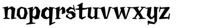 Billsville Font LOWERCASE