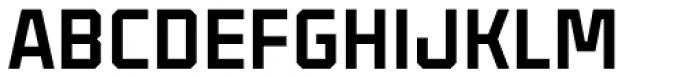 Binaria Black Font UPPERCASE