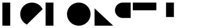 Binary Bottom Font LOWERCASE