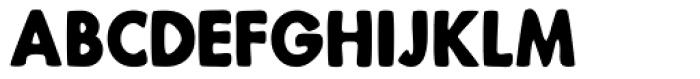 Bindle Font UPPERCASE