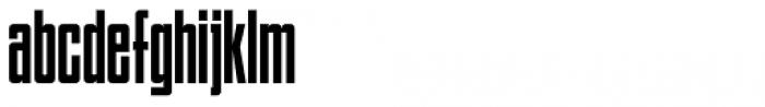 Bindlestiff NF Font LOWERCASE