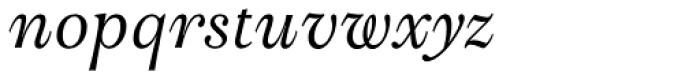 Bingley Italic Font LOWERCASE