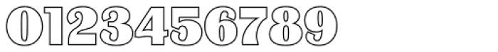 Binner Outline P Font OTHER CHARS