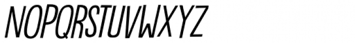 Bintang Italic Font UPPERCASE