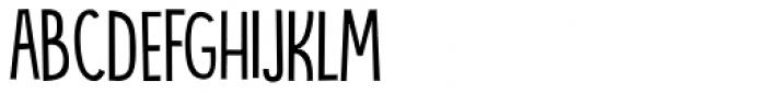 Bintang Regular Font LOWERCASE