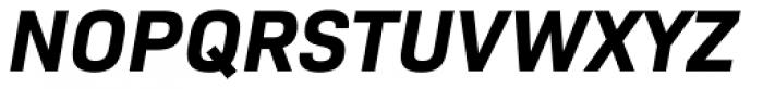 Bio Sans Bold Italic Font UPPERCASE