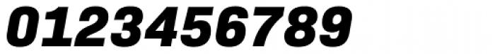 Bio Sans Extra Bold Italic Font OTHER CHARS