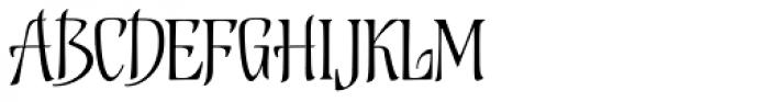 Biographer Font UPPERCASE