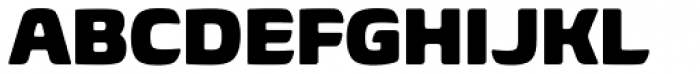 Biome Pro Black Font UPPERCASE