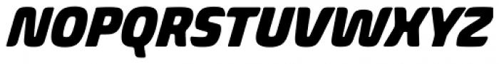 Biome Pro Narrow Black Italic Font UPPERCASE