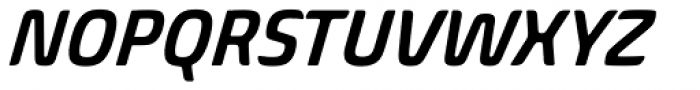Biome Pro Narrow SemiBold Italic Font UPPERCASE