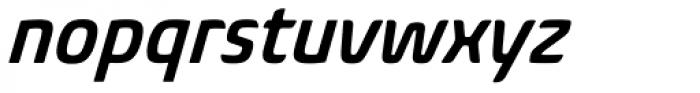 Biome Pro Narrow SemiBold Italic Font LOWERCASE