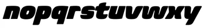 Biome Pro Ultra Italic Font LOWERCASE