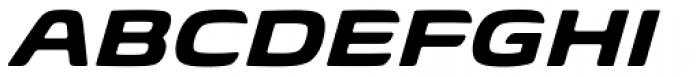 Biome Pro Wide Bold Italic Font UPPERCASE