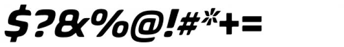 Biome Std Basic Bold Italic Font OTHER CHARS