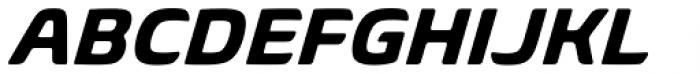 Biome Std Basic Bold Italic Font UPPERCASE