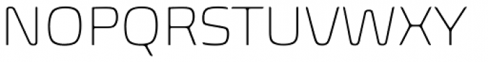 Biome Std ExtraLight Font UPPERCASE