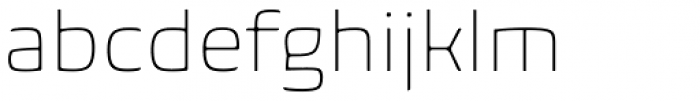 Biome Std ExtraLight Font LOWERCASE