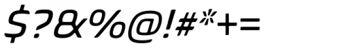 Biome Std Italic Font OTHER CHARS