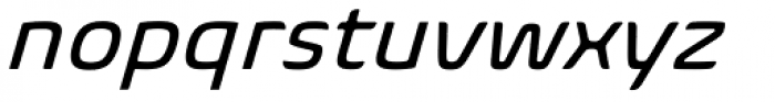 Biome Std Italic Font LOWERCASE