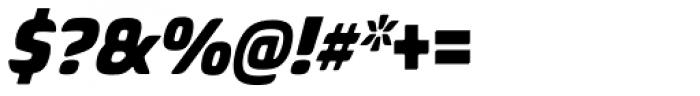 Biome Std Narrow Black Italic Font OTHER CHARS