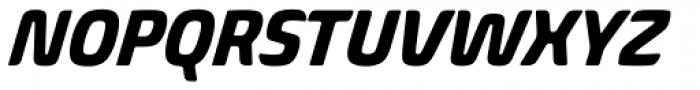 Biome Std Narrow Bold Italic Font UPPERCASE