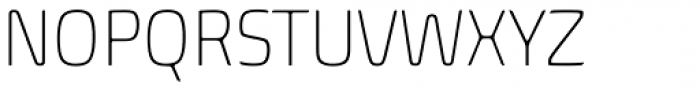 Biome Std Narrow ExtraLight Font UPPERCASE