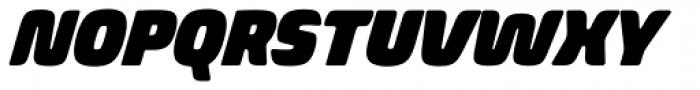 Biome Std Narrow Ultra Italic Font UPPERCASE