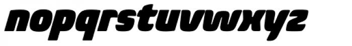 Biome Std Narrow Ultra Italic Font LOWERCASE