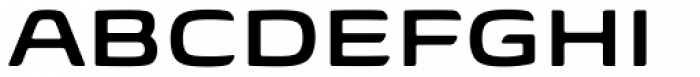 Biome Std Wide SemiBold Font UPPERCASE