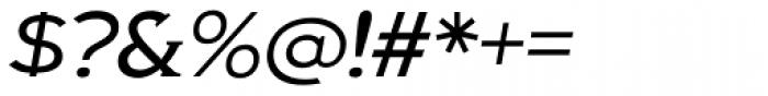 Biondi Light Italic Font OTHER CHARS