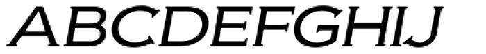 Biondi Light Italic Font UPPERCASE
