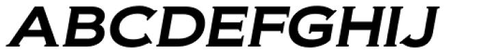 Biondi SemiBold Italic Font UPPERCASE