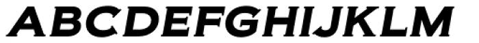 Biondi SemiBold Italic Font LOWERCASE