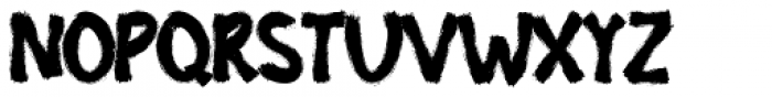 Biotech Regular Font UPPERCASE