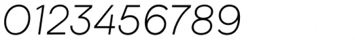 Biotif Light Italic Font OTHER CHARS