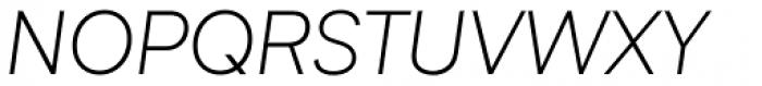 Biotif Light Italic Font UPPERCASE