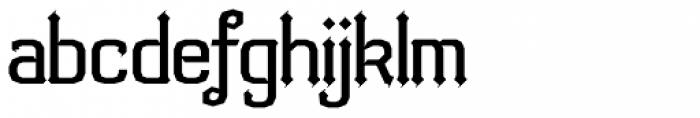 Bipolar Bold Font LOWERCASE