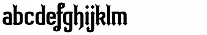 Bipolar Decorative Font LOWERCASE