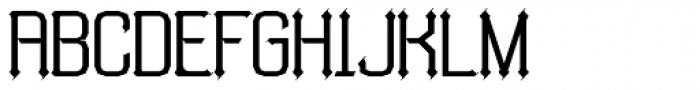 Bipolar Font UPPERCASE