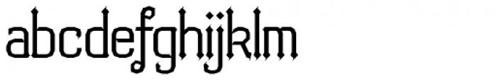Bipolar Font LOWERCASE