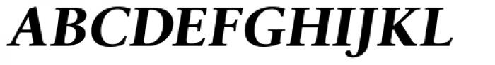 Birka Pro Bold Italic Font UPPERCASE