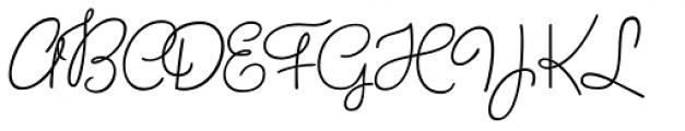 Birthday Font UPPERCASE