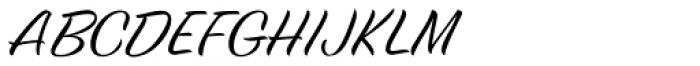 Birthstone Pro Font UPPERCASE