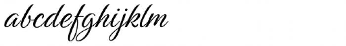 Birthstone Pro Font LOWERCASE