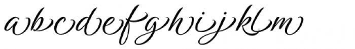 Birthstone Titling Font LOWERCASE