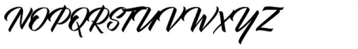 BisQuid Font UPPERCASE