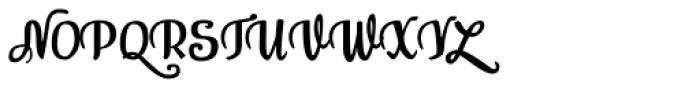 Bisalir Font UPPERCASE