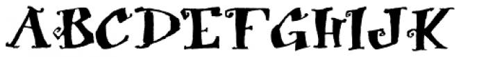 Biscuit Boodle Alternate Font UPPERCASE