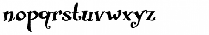 Biscuit Boodle Font LOWERCASE